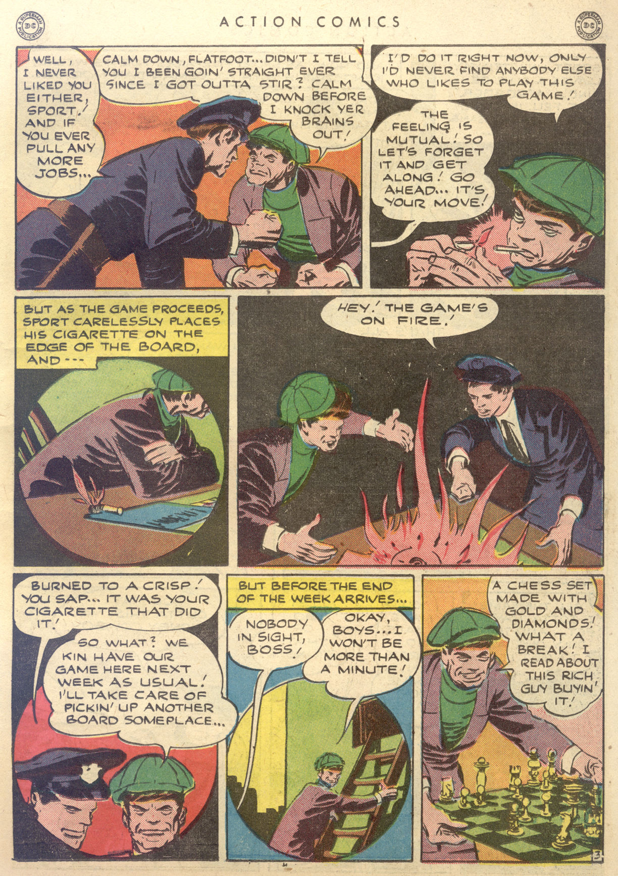 Read online Action Comics (1938) comic -  Issue #88 - 33