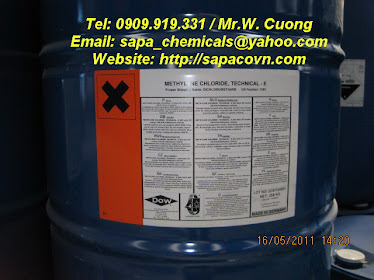 MC - Dow / methylene chloride / CH2CL2