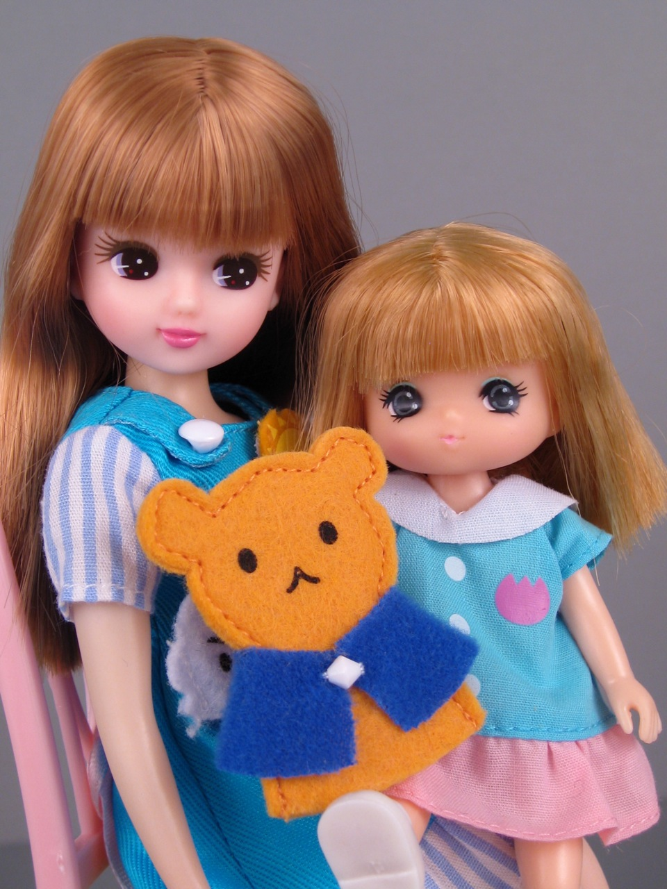Licca-chan and Miki-chan by Takara | The Toy Box Philosopher