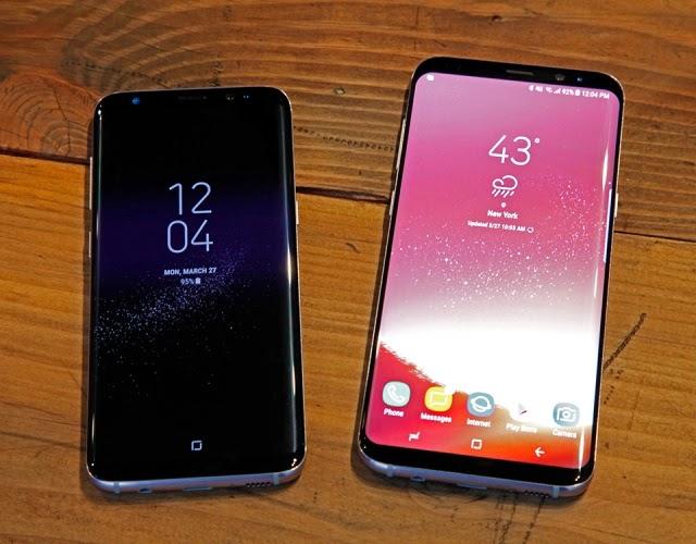 Dua Masalah Pada Samsung Galaxy S8 dan S8+