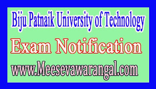 Biju Patnaik University of Technology B.Tech Civil Engineering Assistant Professor 2016 Notification