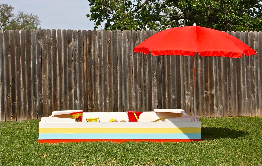 Backyard Sandbox  MADE EVERYDAY