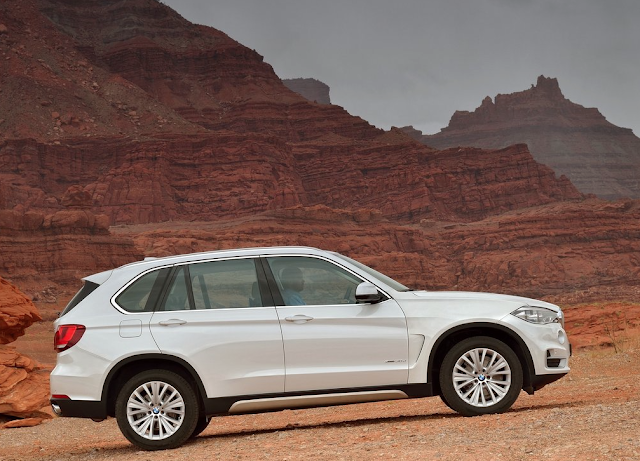 2015 BMW X5 white
