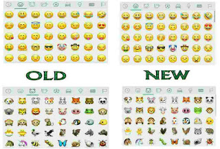 whatsapp introduced new set of emojis
