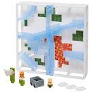 Minecraft Stack Track Set 4 Hot Wheels Track Blocks Figure