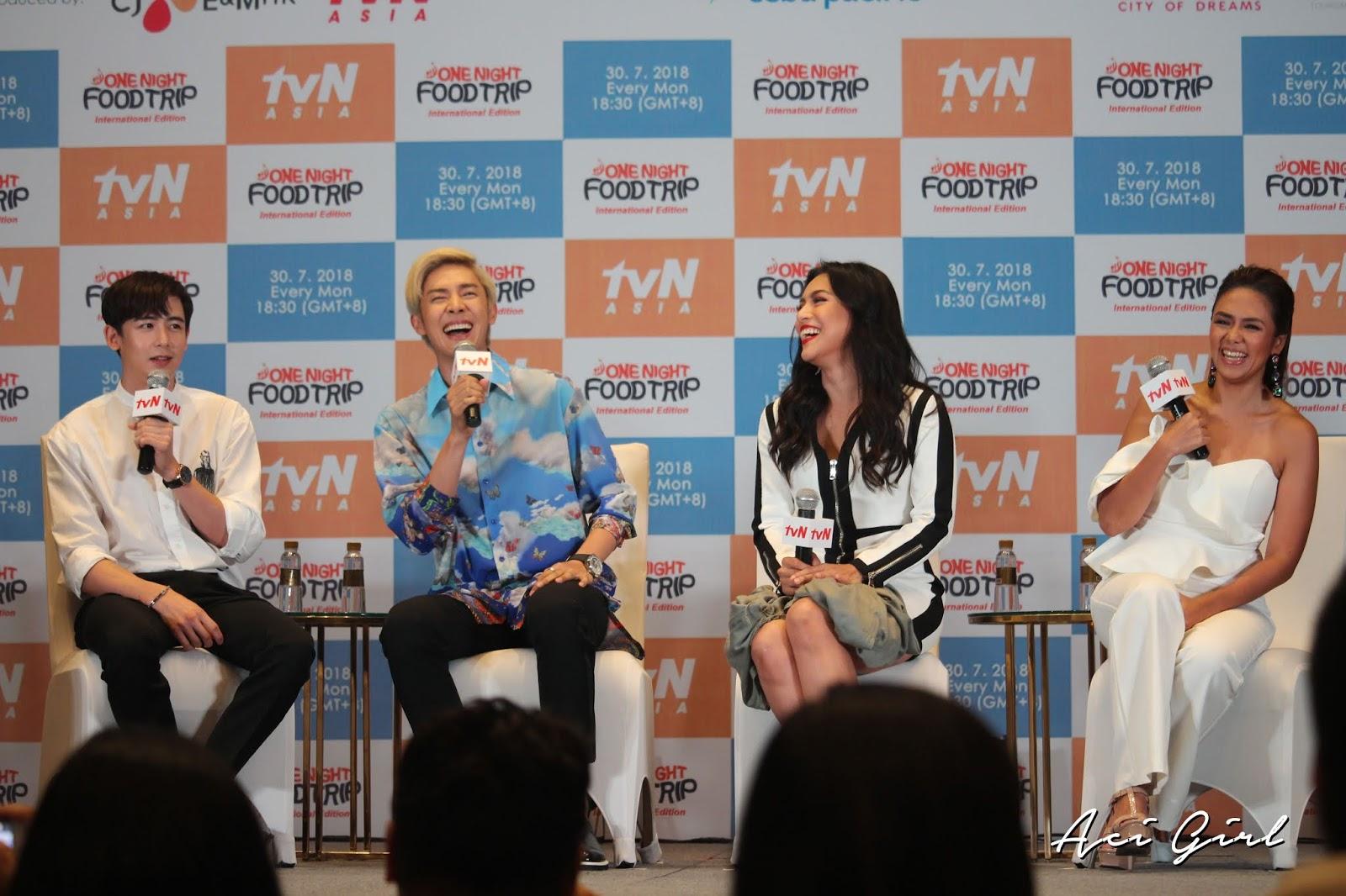 Tvn Asia One Night Food Trip Returns To The Philippines Aci Girl