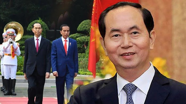 Presiden Vietnam Meninggal Dunia, Presiden Jokowi Sampaikan Belasungkawa