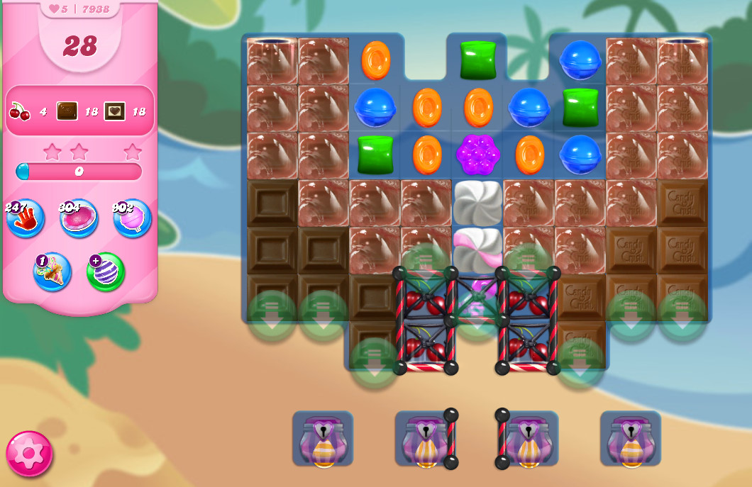 Candy Crush Saga level 7938