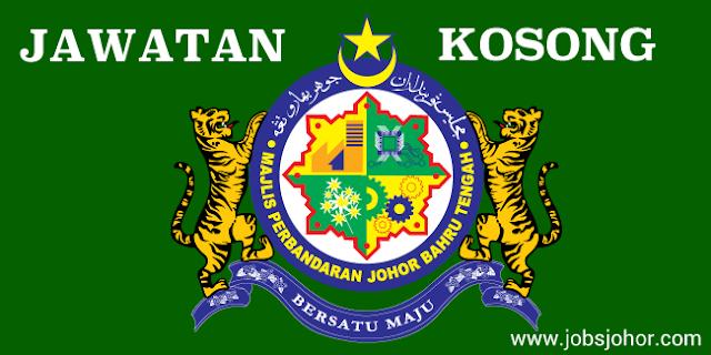 Majlis Perbandaran Johor Bahru Tengah (MPJBT) Jawatan Kosong 12 Mei 2016