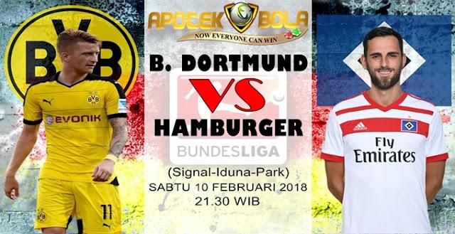 Prediksi Borussia Dortmund vs Hamburger SV 10 Februari 2018