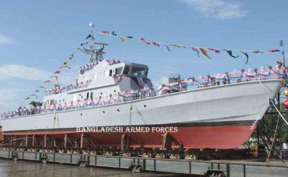 BNS Padma kapal perang pertama buatan Bangladesh