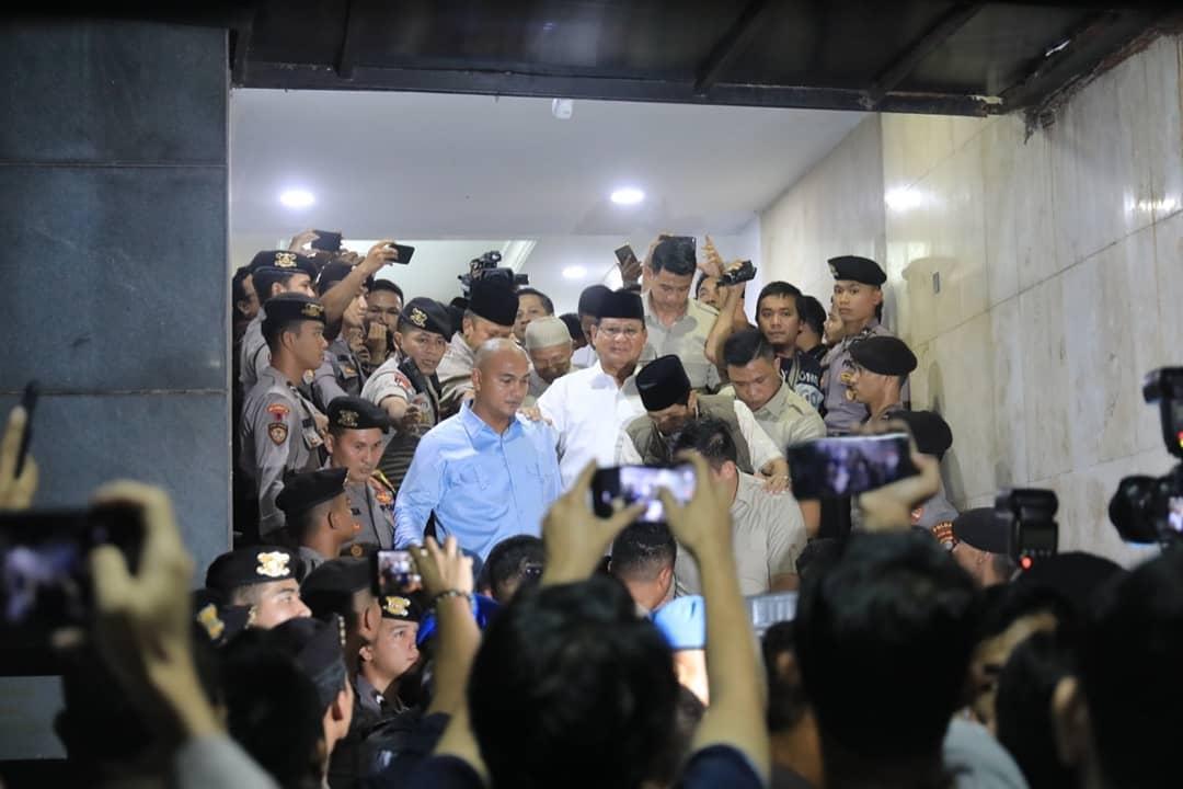 Prabowo Tak Diizinkan Jenguk Egi Sudjana dan Leuis