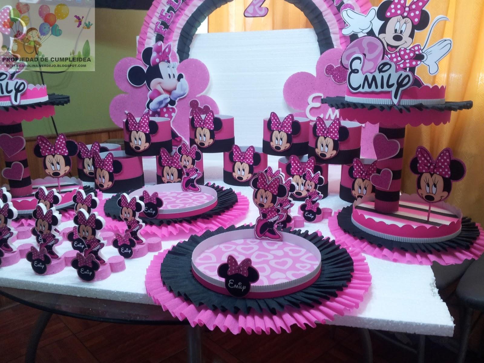 Decoraciones infantiles minnie mouse - Imagenes de decoracion de fiestas infantiles ...
