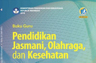 Download Buku Guru PJOK SMP/MTs Kurikulum 2013 Kelas IX Edisi Revisi 2018 Pdf
