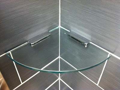 GLASS SHELVING BY GIOVANI GLASS