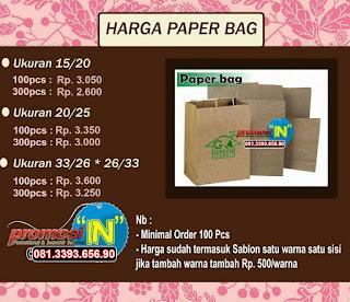 Jual Paper Bag Murah Polos Surabaya