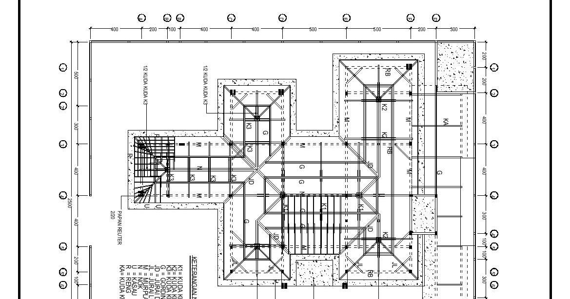 Rangka Atap Baja Ringan Model Limas Info Koleksi 28+ Denah