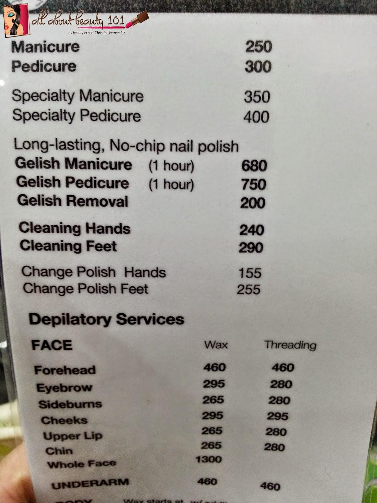 David Salon List Price Philippines