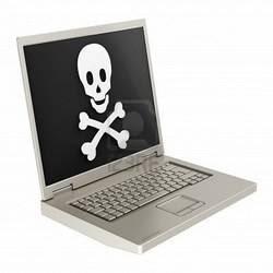 Internet dos hackers e piratas cibernéticos.