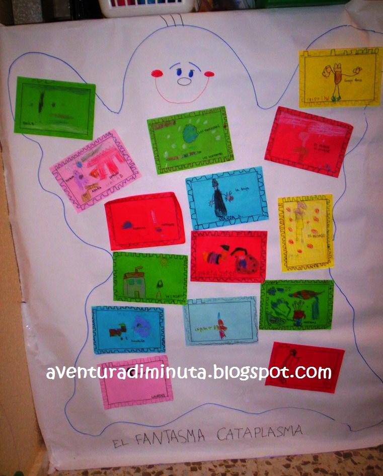 Aventura diminuta el fantasma come miedos actividad para for Actividades para jardin infantil
