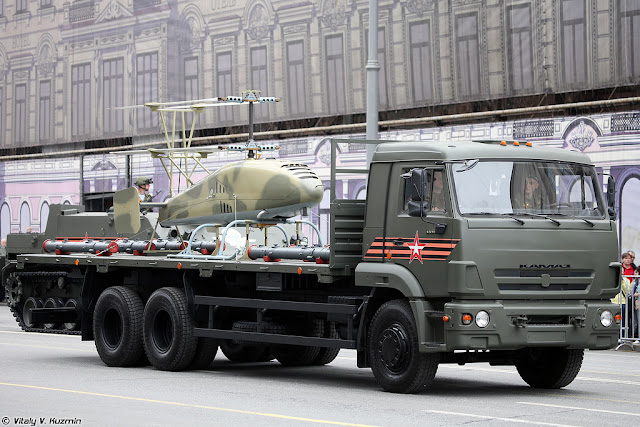 Image Attribute: Katran (КATPAH) UAV displayed during Victory Day Parade in May 2018 / Source: Vitaly Kuzmin / License:  Creative Commons Attribution-NonCommercial-NoDerivatives 4.0 International License.