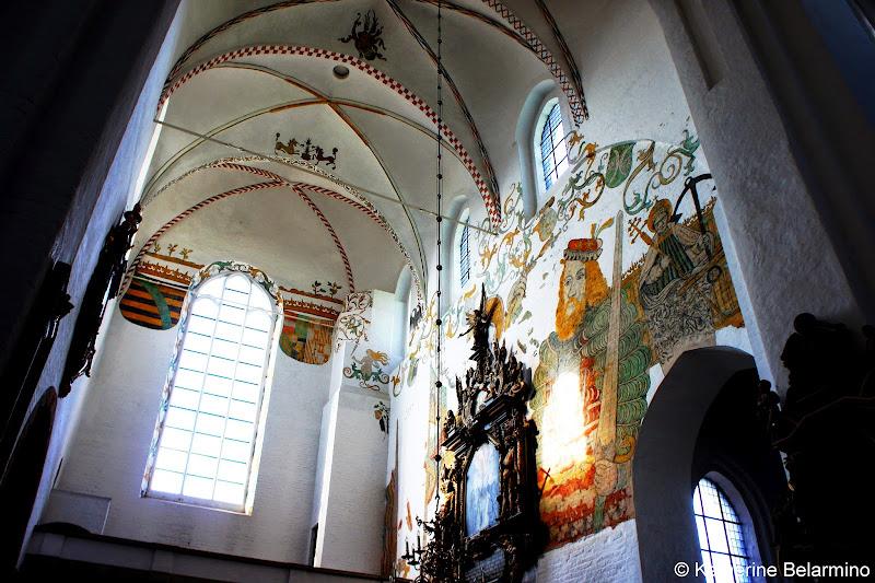 Aarhus Cathedral Frescoes Denmark