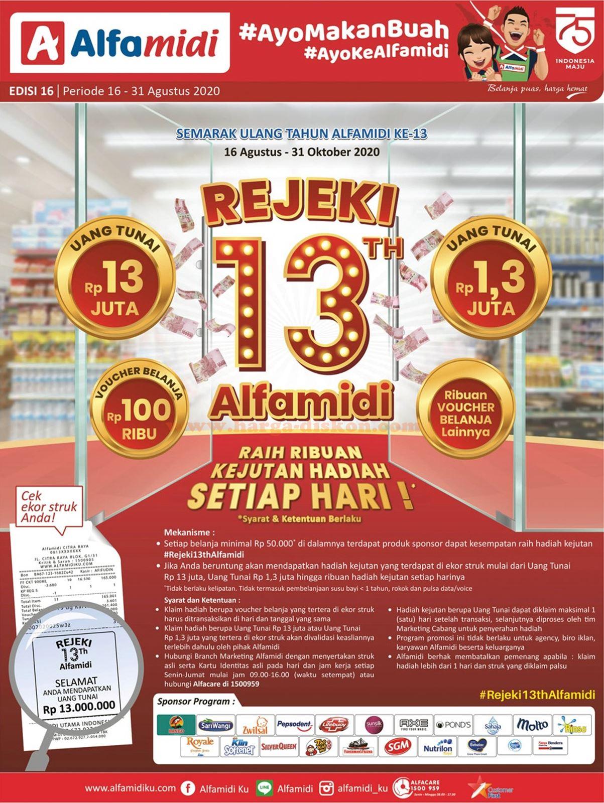 Katalog Alfamidi Promo Alfamidi Terbaru 16 31 Agustus 2020 Beureum