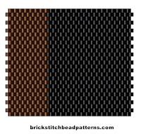 Winter Seasonal Color Palette Two Bead Colors