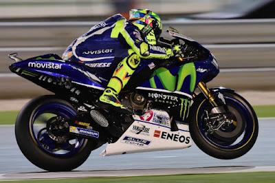 Keteteran di Latihan Hari Kedua, Rossi Akui Sedang Bermasalah dengan Mesin