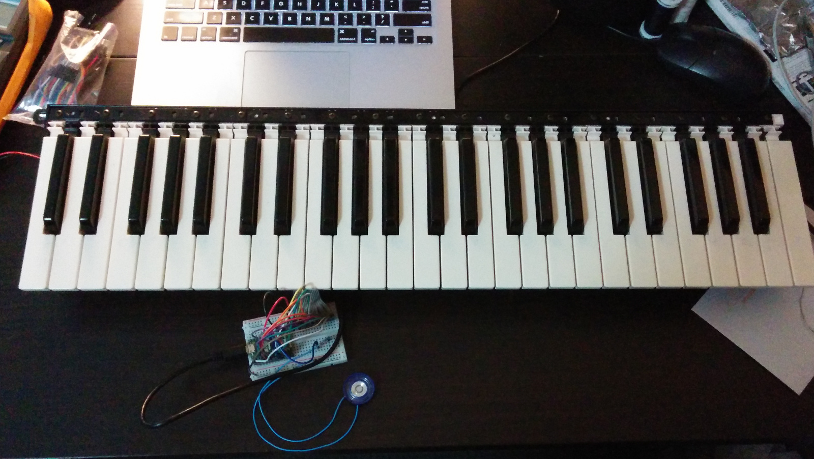 Random Project Lab: Electric Piano Part 1: Turning an old piano into