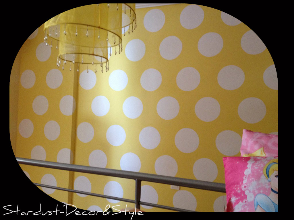Girl's Bedroom Reveal! (and how to paint polka dots on a ...