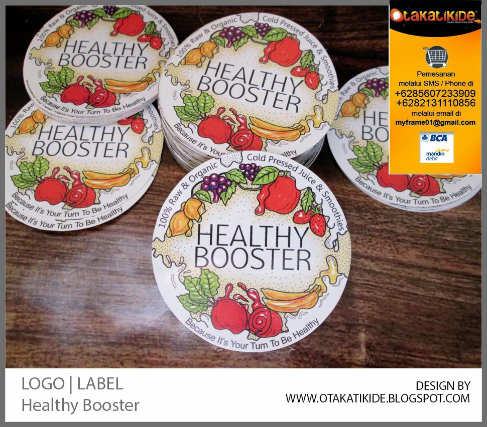 Konsep Jasa Desain Grafis: Label Produk Minumanjasa Desain Kemasan Produk Ukm, Logo