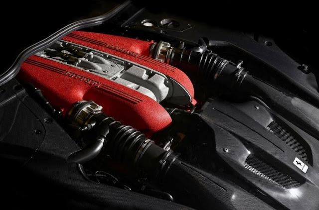 2017 Ferrari F12 tdf Engine