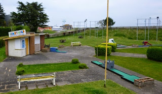 Skegness - The site of England's first-ever Crazy Golf course. The game has been played on this spot since 1926