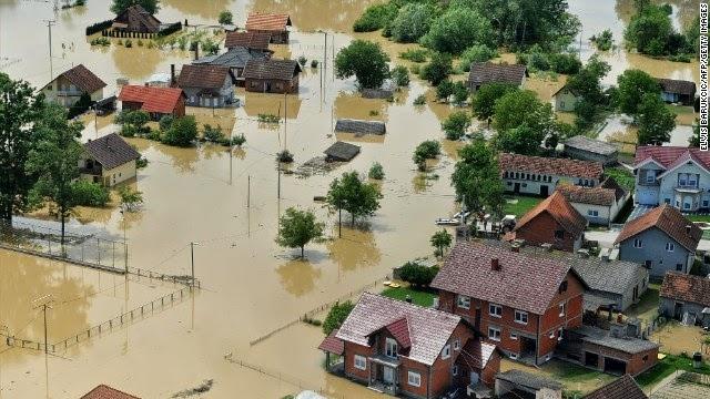 Planet X 與 2012: 停不了的「水災地獄」 -- 歐洲篇 (四) 巴爾幹半島120年來最嚴重水浸