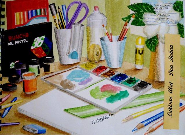 Pendidikan Seni Alat Dan Bahan Lukisan