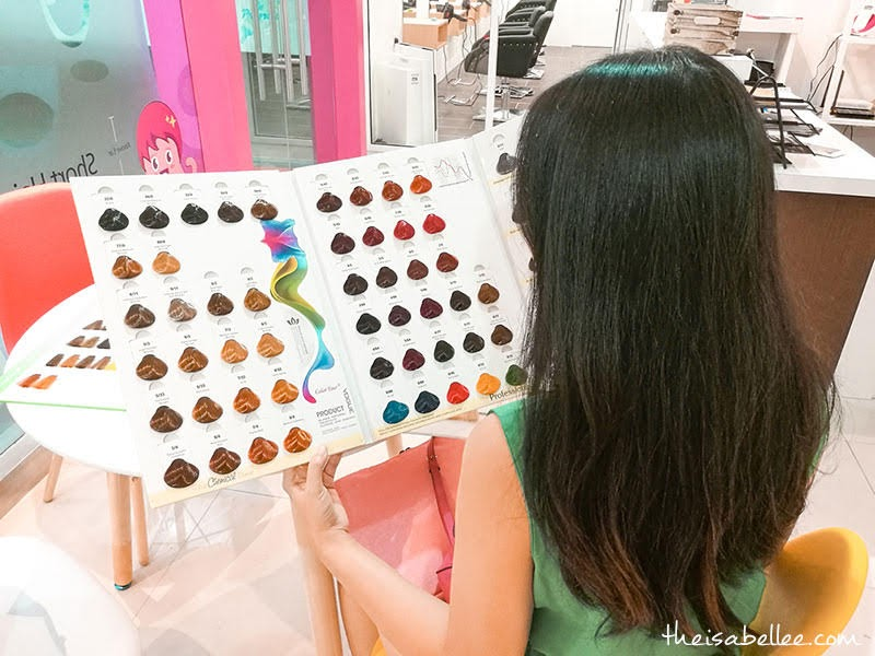 Hair Color Expert Plaza Berjaya colour options