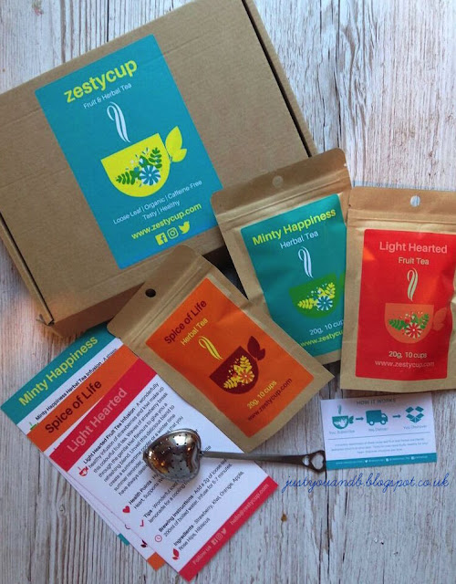 Zesty Cup Monthly Subscription | Tea Review