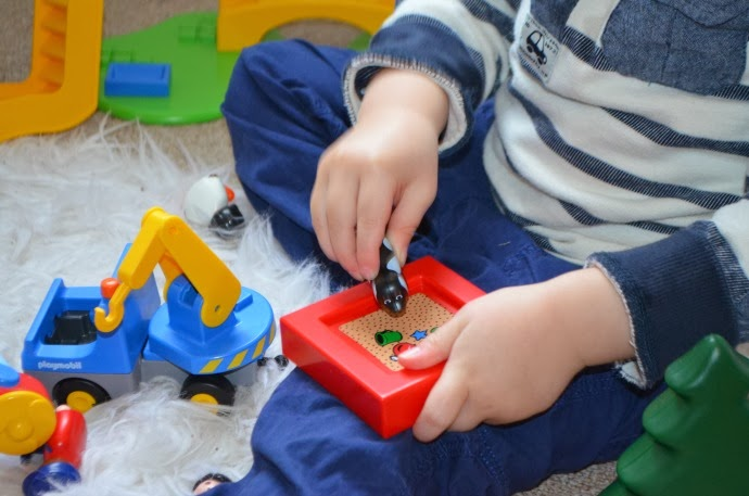 imaginative play, toddler and playmobil, playmobil toddler range