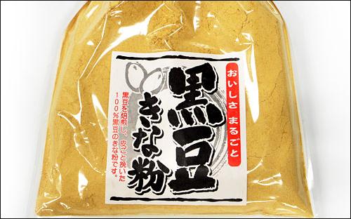 黒豆きな粉の育毛効果とは?大豆食品が苦手の人には抜群の効果!