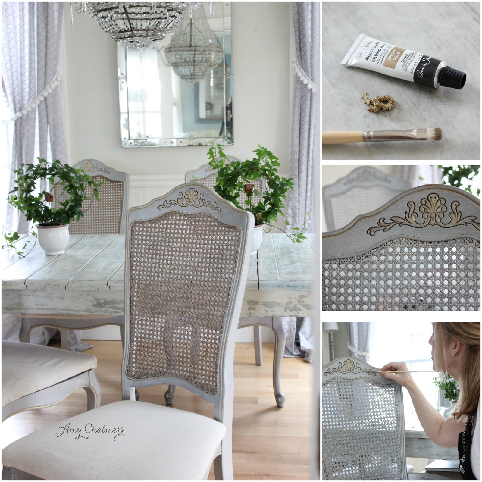 Maison Decor French Country Enchanting Yellow White: Maison Decor: Gilding Is So French