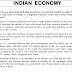 IAS GS Mains Test Series INDIAN ECONOMY Answer Hints Material PDF