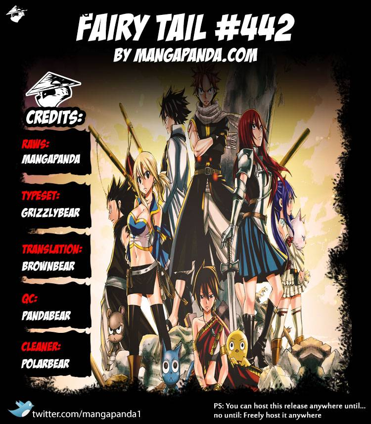 Fairy Tail Ch 442: The Law of Space