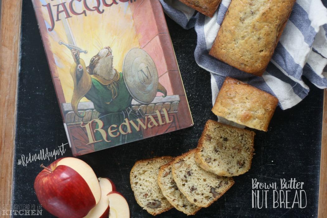Brown Butter Nut Bread | #RedwallAugust