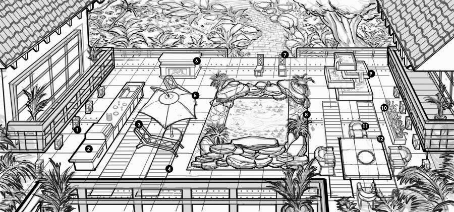 Plumbob News: The Sims 3 Outdoor Living Stuff Concept Art