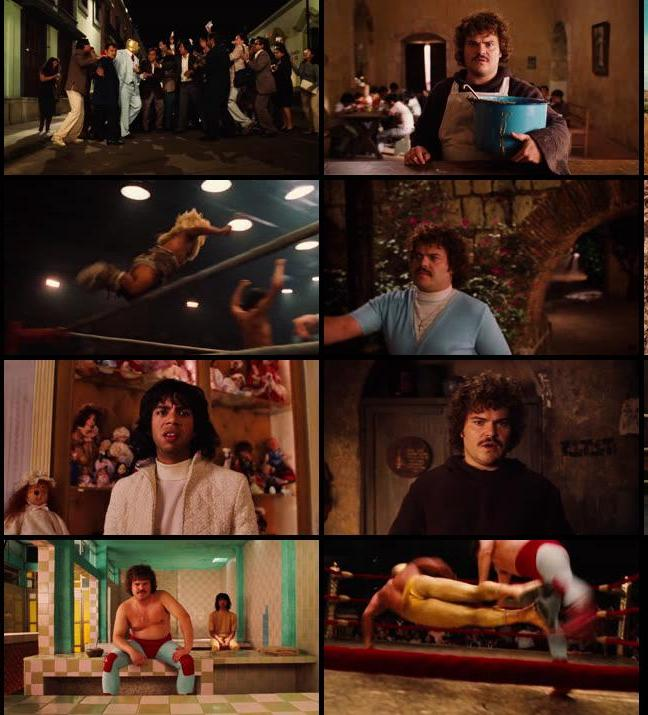 Nacho Libre 2006 Dual Audio Hindi 480p BluRay