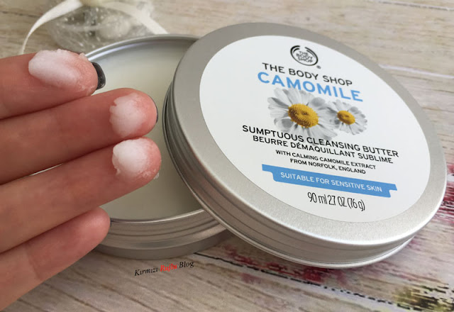 The Body Shop Camomile makyaj temizleme yağı