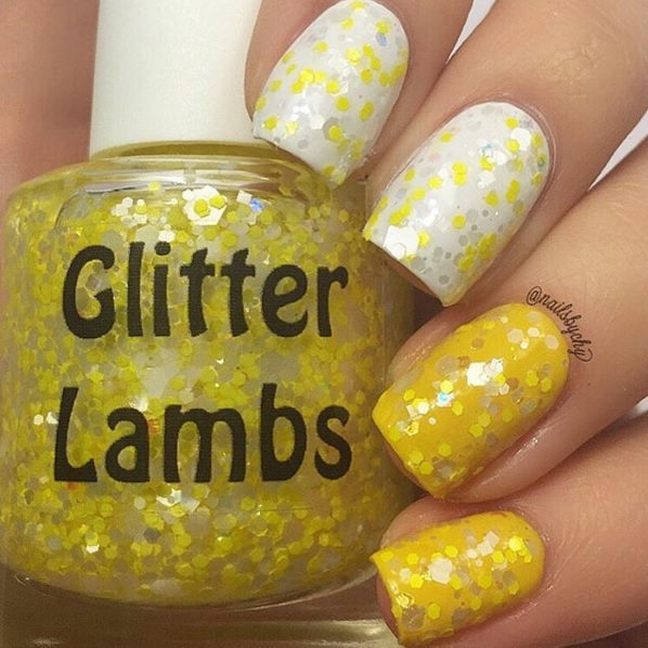 Glitter Lambs Spring Collection- Baby Fuzzy Chicks Rule, Give Me Carrot Cake, Sherbert Kisses, Polka Dot Jelly Beans