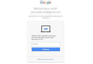 cara membuka email gmail yang lupa Password 100% bisa terbuka langkah 2