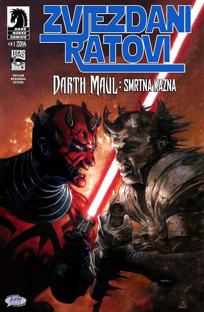 Smrtna kazna 3 (Darth Maul) - Zvjezdani Ratovi